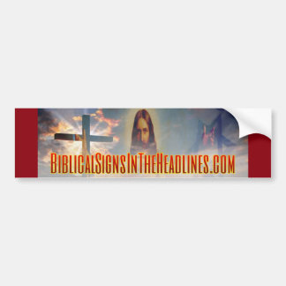 Biblical Signs ITH Bumper Sticker
