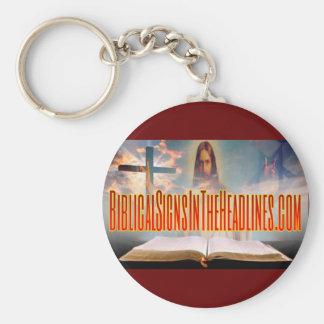 Biblical Signs Key Chain
