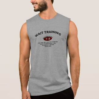 Biblical Wait Training From Ecclesiastes Sleeveless Shirt