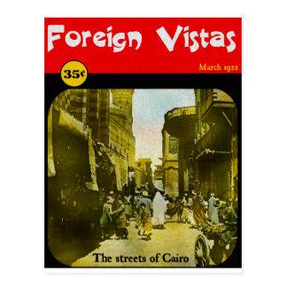 Bibliomania: Foreign Vistas Magazine Postcard