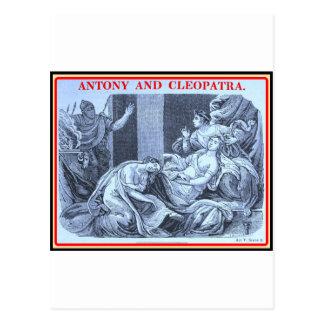 Bibliomania: Shakespeare - Antony and Cleopatra Postcard