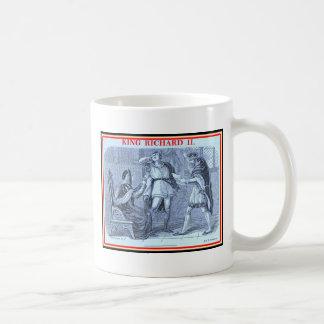 Bibliomania: Shakespeare - King Richard II Coffee Mugs
