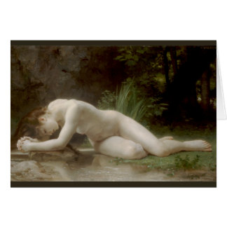 Biblis (Byblis) by William-Adolphe Bouguereau Card