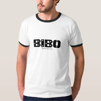BIBO, Beer In, Beer Out, texting slang shirt