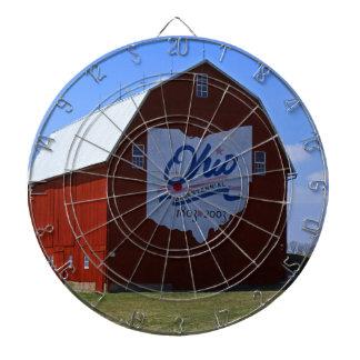 Bicentennial Barn Red Dart Boards