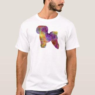 Bichon Anti-yaw in watercolor T-Shirt