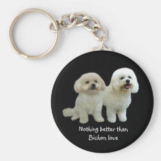 Bichon Buddies Keychain