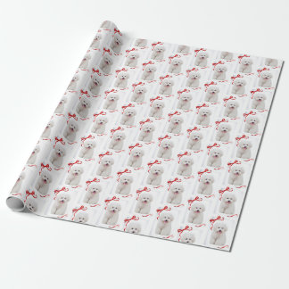 Bichon Christmas Wrapping Paper