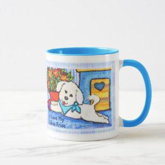Bichon Dog Love Coffee Mug