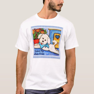 Bichon Dog Love Nightie T-Shirt