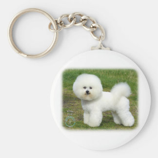 Bichon Frise 9A063D-05 Key Ring