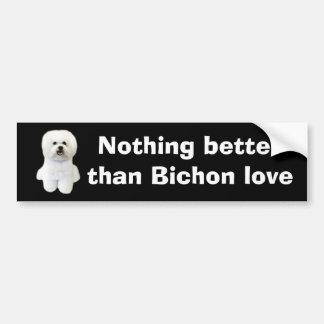 Bichon Frise Bumper Sticker