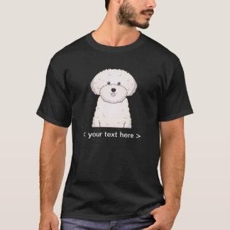 Bichon Frise Cartoon Personalized T-Shirt