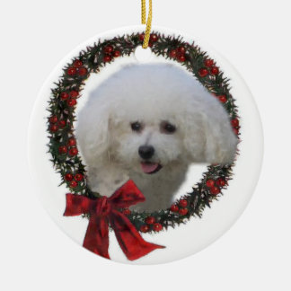 Bichon Frise Christmas Gifts Ornament
