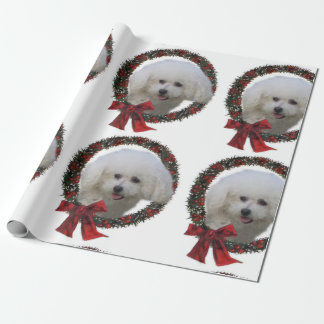 Bichon Frise Christmas Wrapping Paper