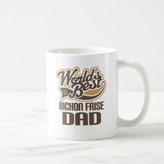 Bichon Frise Dad (Worlds Best) Coffee Mug