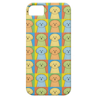 Bichon Frisé Dog Cartoon Pop-Art Barely There iPhone 5 Case