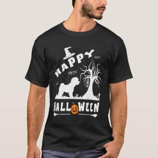 BICHON FRISE Happy Halloween Dog Lovers Gift T-Shirt