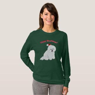 Bichon Frise Holiday Shirt