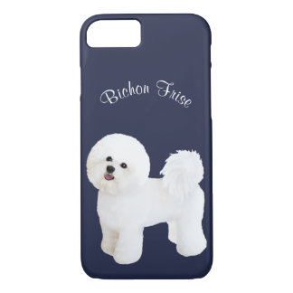 Bichon Frise Illustrated Cell Phone Case