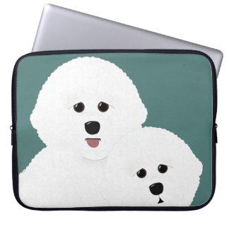 Bichon Frise Laptop Sleeve
