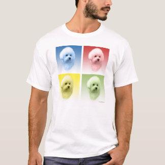 Bichon Frise Pop Art T-Shirt