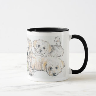 Bichon Frise Puppies Mug
