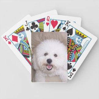 Bichon Frise Smiling Dog Playing Cards