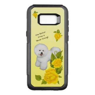 Bichon Frise, with Yellow Roses OtterBox Commuter Samsung Galaxy S8+ Case