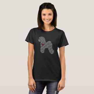 Bichon Frise Word Cloud T-Shirt