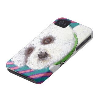 Bichon iPhone 4 Case-Mate Case