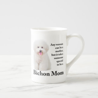 Bichon Mom Bone China Mug