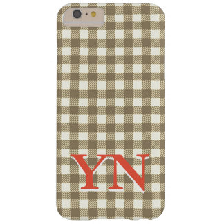 Bicolored chess barely there iPhone 6 plus case