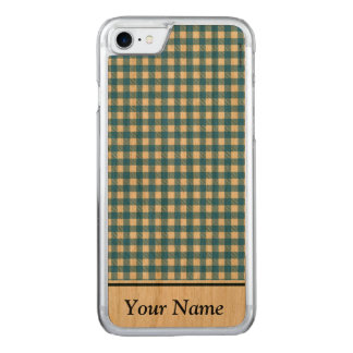Bicolored chess carved iPhone 8/7 case