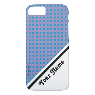Bicolored chess iPhone 7 case