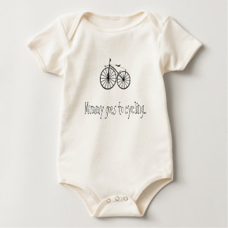 Bicycle 001 - IOOC Baby Bodysuit