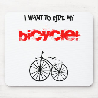 Bicycle 002 - MP Mouse Pad