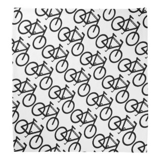 Bicycle Abstract Bandanas