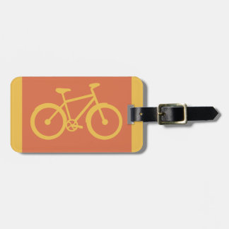 Bicycle Bike Cycling Graphic Luggage Tag