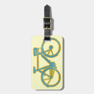 bicycle . bike / cycling nice luggage tag