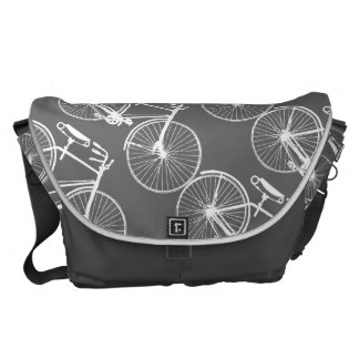Bicycle Bike/You choose background color Commuter Bag