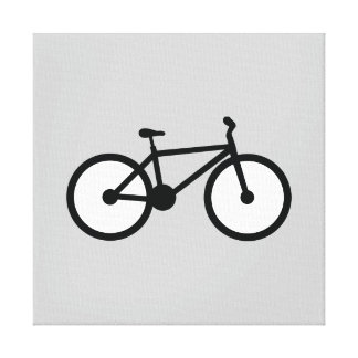 Bicycle Stretched Canvas Print