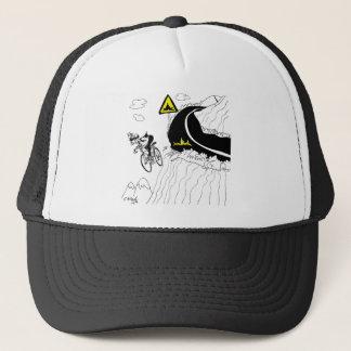 Bicycle Cartoon 9334 Trucker Hat
