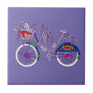 Bicycle Ceramic Tile