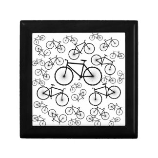 Bicycle Collage Small Square Gift Box