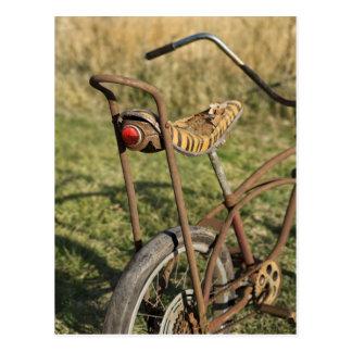 Bicycle Cycle Bicycling Cycling Banana Cruiser Postcard