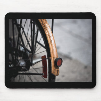 Bicycle Cycle Bicycling Cycling Rusted Bike Mouse Pad