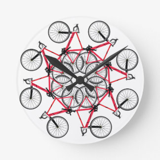 Bicycle cycle round clock
