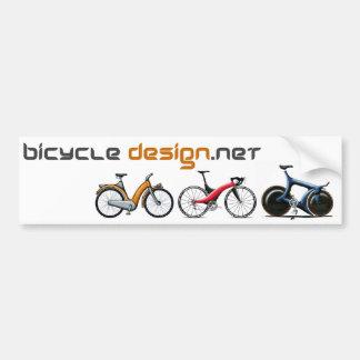 Bicycle Design Bumper Sticker