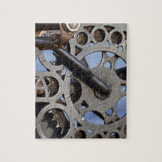Bicycle detail jigsaw puzzle